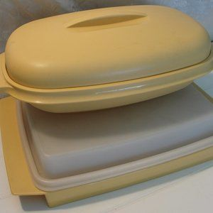 3 for $10... Vintage Tupperware Set of 2